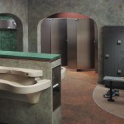 Designing from the Drain Up: Building better restrooms and locker rooms  means paying essential attention to cleanliness, attractiveness and ease of maintenance