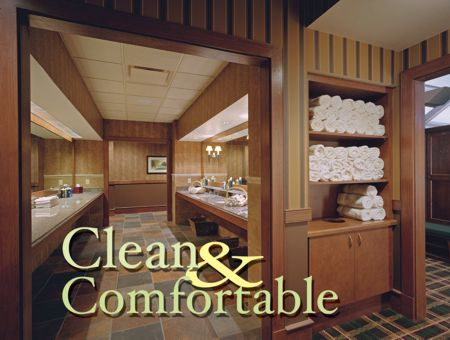 Clean and Comfortable -- Avoiding errors in locker room and restroom ...