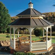 Helpful Havens: Gazebos, pergolas and the wide world of outdoor shelters