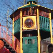 Pump Up the Fun: What�s new on the playground?