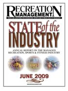 2009 REPORT ON THE STATE OF THE MANAGED RECREATION INDUSTRY: General Survey Results