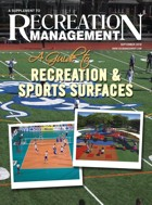 <strong>SPECIAL SUPPLEMENT: <br>A Guide To Recreation & Sports Surfaces</strong>