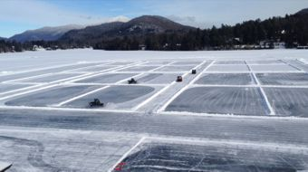 Nice Ice Can Am Adult Pond Hockey Tournament Lake Placid N Y