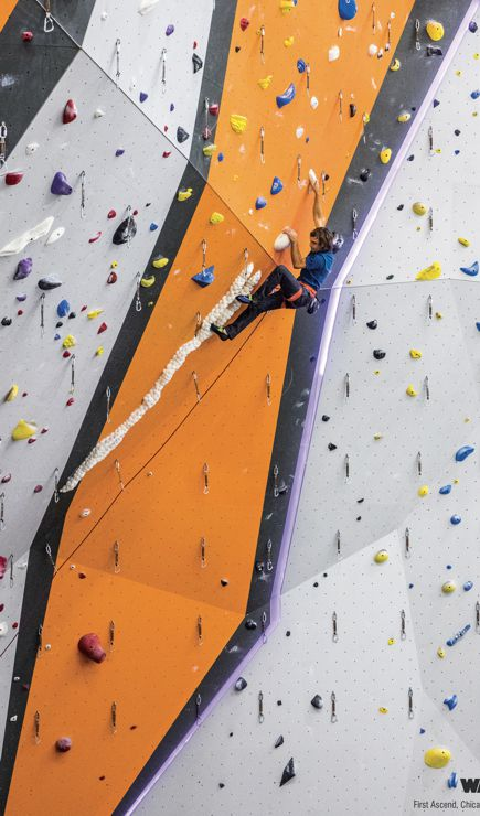 First Ascent Climbing in Chicago - Walltopia