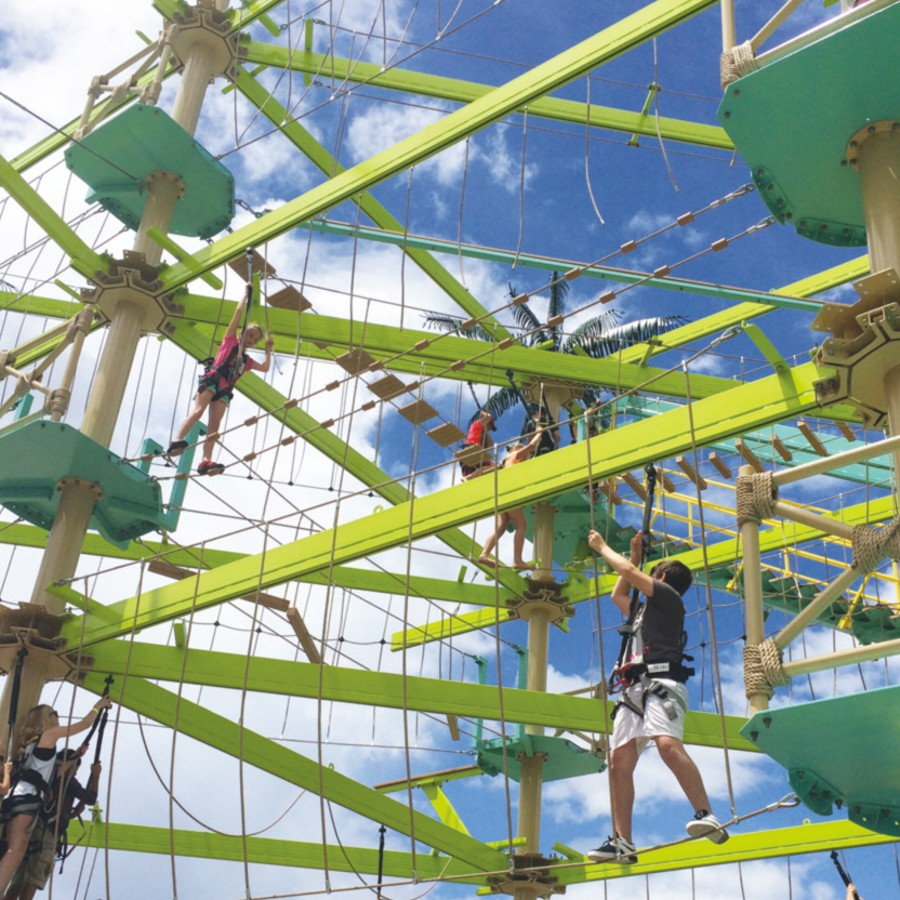 Rise to the Challenge: Climbing, Ropes Courses, Obstacle Racing & Beyond