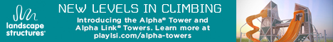Landscape Structures - Alpha Tower and Alpha Link Tower - New Levels in CLimbing