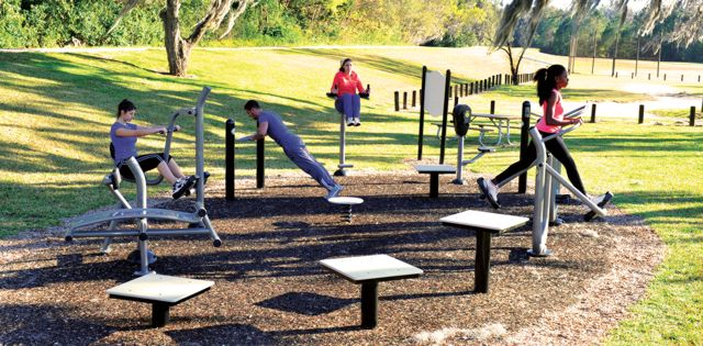 Take It Outside: Outdoor Fitness Areas Brings Fitness to All
