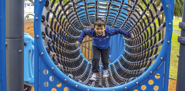 Destination: Playgrounds: Modern Playgrounds Create Fun Family Outings