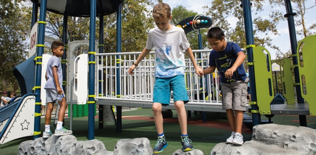 Challenge Minus Danger: Playground Advancements Help Children Experience Risk With Fewer Big Injuries