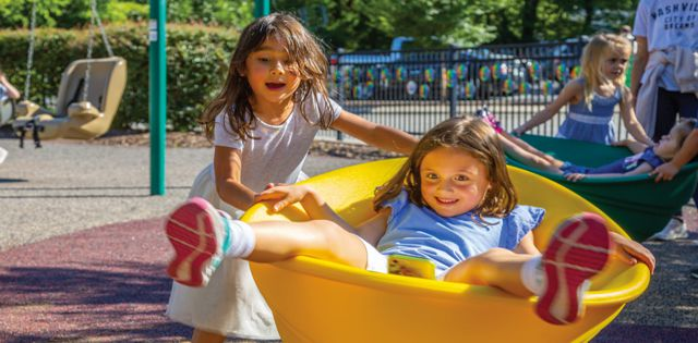 United in Play: The Latest Playgrounds Are for Everyone