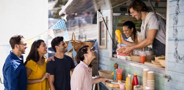 Feed the People: Concessions, Food Trucks & Farmers Markets