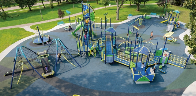 Playgrounds from  Start to Finish: Fund, Design, Build