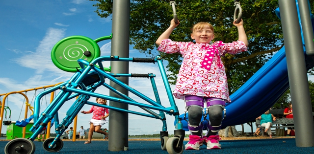 Play Along: Inclusive Playgrounds Help Us All Play Together