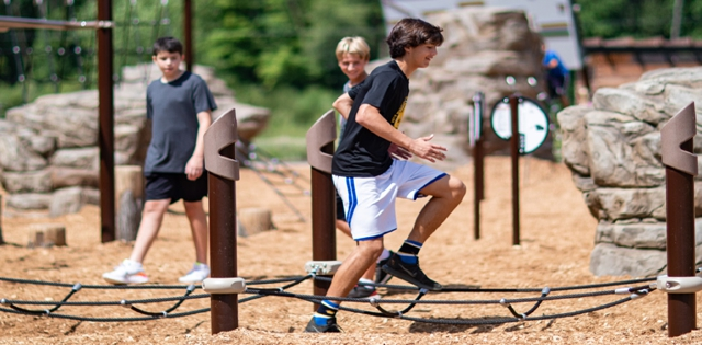 Outdoor Fitness Comes Into Its Own: New Outdoor Fitness Areas Improve Equipment, Amenities & Accessibility